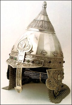 Cigar Box in the Shape of a Russian Helmet, Both by Fabergé (von Habsburg, Géza, et al., Fabergé, 1987,126, 128, 190-1)