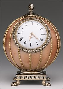 (2) Fabergé Spherical Clock (Courtesy Gray Collection)