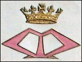 1896 Monogram Designed by Queen Marie (Courtesy Diana Mandache, Royal Romania)