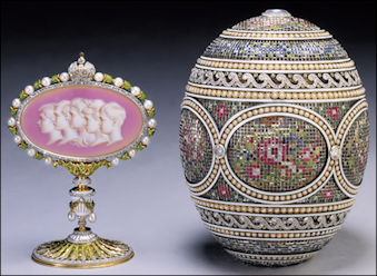 1914 Mosaic Egg (28,300 r.) Royal Collection of Queen Elizabeth II, UK