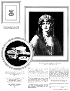Pond's Skin Creams Advertisement (Woman's Home Companion, January 1927)