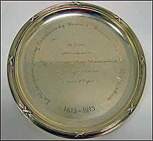 Marie Georgievna Romanov Tercentenary Plate (Odom, What Became of Peter's Dream? p. 87, Item 15)