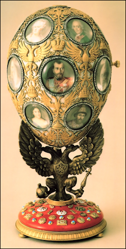 (Fabergé, Proler, and Skurlov, The Fabergé Imperial Easter Eggs, 1997, 213)