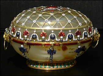 18th Century LeRoy Casket (Photograph by the Author)
