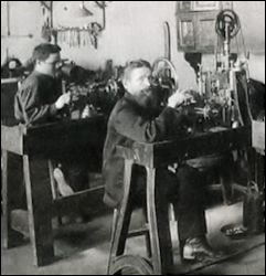 Fabergé Guilloche Workshop (Archival Photograph)