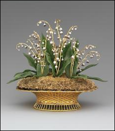 Lilies of the Valley Basket (Gray Collection and Metropolitan Museum of Art)