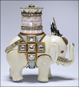 Found 2015! Missing Elephant Automaton Surprise (Courtesy Royal Collection of Queen Elizabeth II)