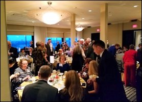 Banquet Celebration Complete with Fabergé Cookies