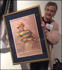 Dorothy McFerrin Accepting Rothschild Poster