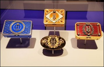 Imperial Snuff Boxes in the Exhibition