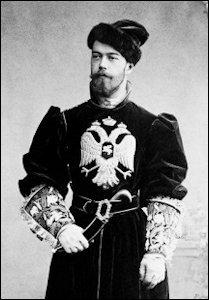 Nicholas as Tsesarevich, 1894 (Courtesy Wikimedia Commons)
