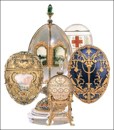 Pratt Faberge Eggs