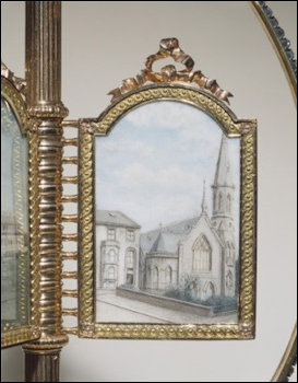 Painted Miniature of Cathcart House