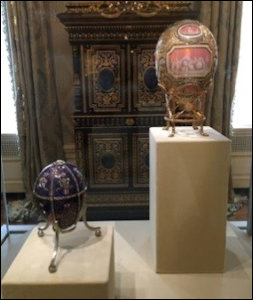 Fabergé Eggs at Hillwood Museum