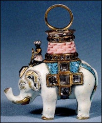 Insignia, Order of the Elephant with Christian VI's (1699-1746) Monogram
