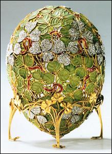 Clover Leaf Egg Surprise