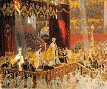 1896 Coronation of Russian Emperor Nicholas II